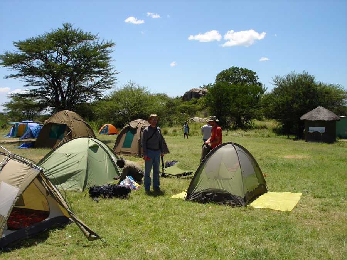 палаточный кемпинг