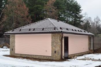 крыша гаража металлическая