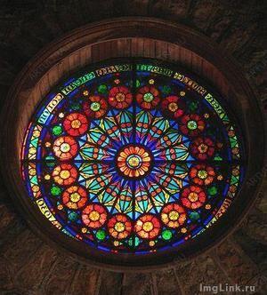Красивое арочное окно