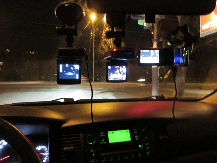 видеорегистратор ночью