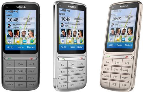 Nokia C3-01 классика