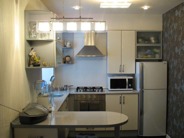 кухня гостиная в хрущевке