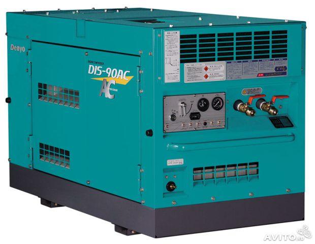 Дизельный компрессор DIS-90SB