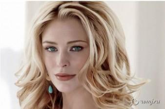макияж блондинка с зелеными глазами